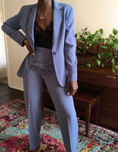 Load image into Gallery viewer, cerulean two-piece pant suit