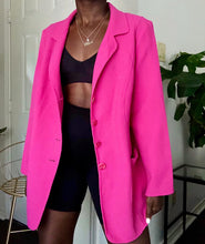 Load image into Gallery viewer, hot pink blazer