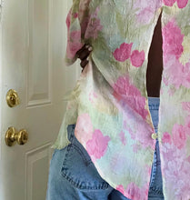 Load image into Gallery viewer, sheer watercolor blouse