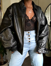 Load image into Gallery viewer, vintage leather bomber