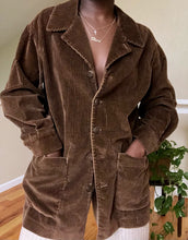Load image into Gallery viewer, cocoa corduroy shirt jacket