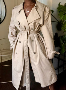 vintage christian dior trench coat