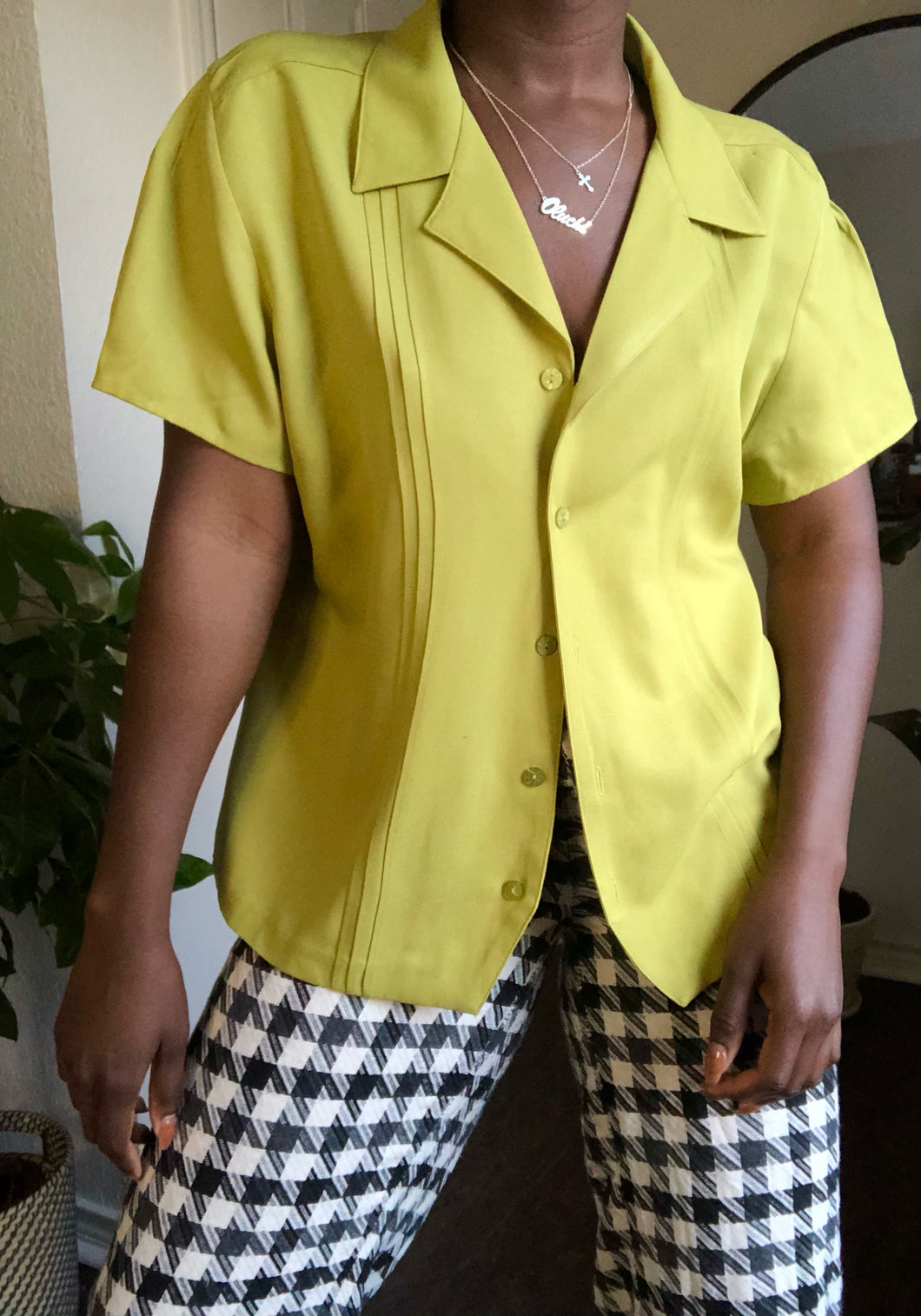 citron button up