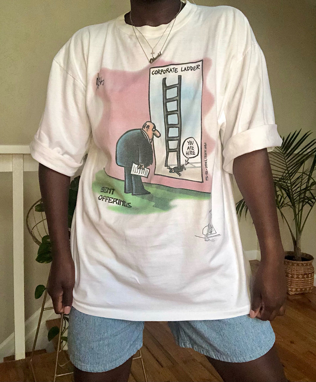 corporate ladder tee