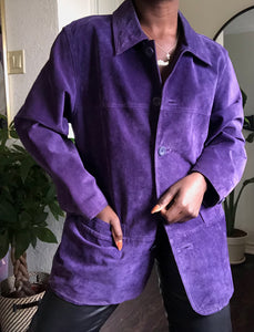 grape shirt jacket