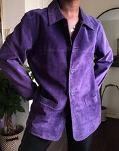 Load image into Gallery viewer, grape shirt jacket