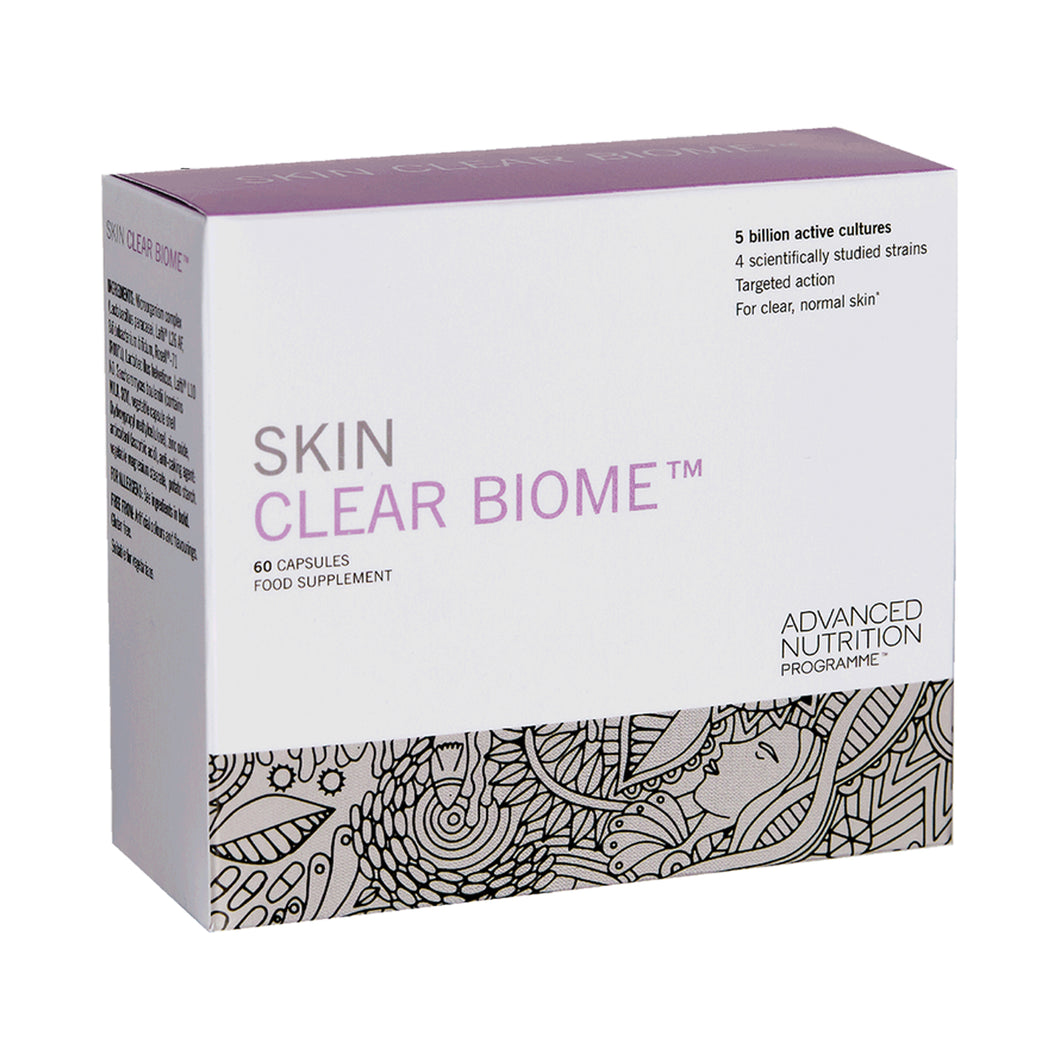 Advanced Nutrition Programme™ Skin Clear Biome x 60 Capsules