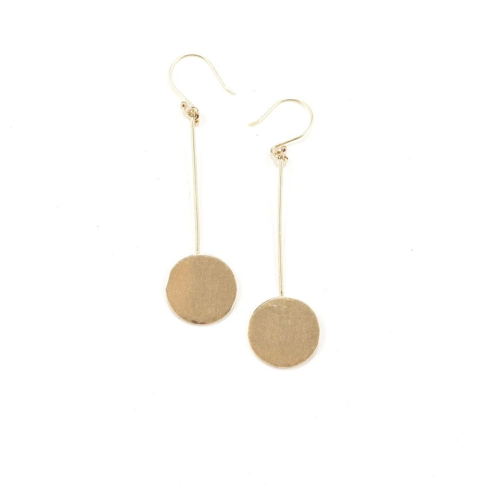 Sundance Brass Earrings
