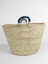 Load image into Gallery viewer, Marrakech Woven Storage Basket - Ink