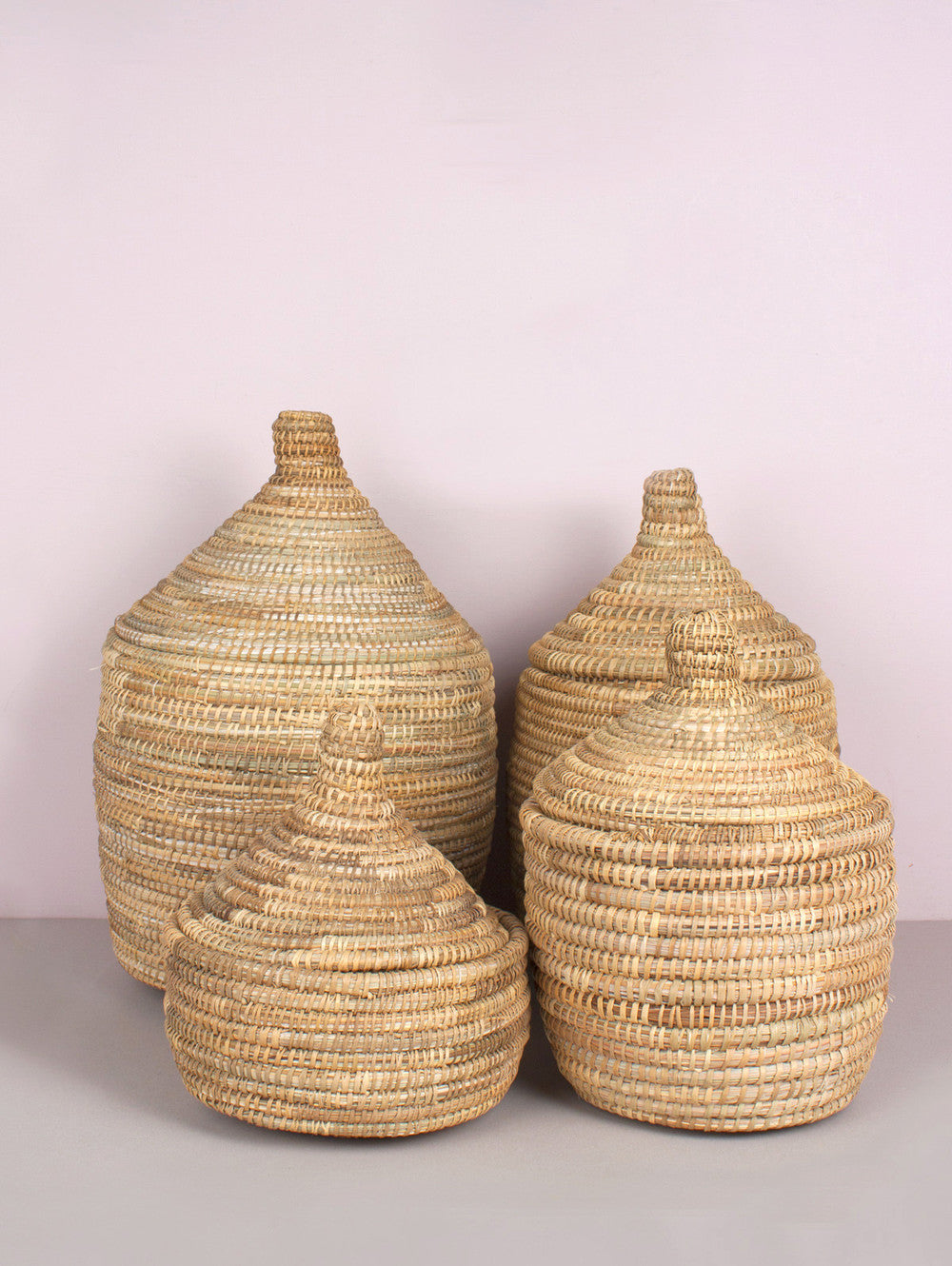 Moroccan Woven Pot - Large