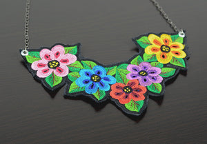 Mérida Floral Necklace  - Multi