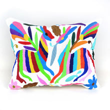 Load image into Gallery viewer, Otomi Embroidered Pillow