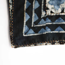 Load image into Gallery viewer, Haveli Block Print Indigo Throw