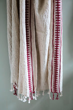 Load image into Gallery viewer, Antique Red Turkish Towel