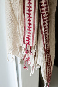 Antique Red Turkish Towel
