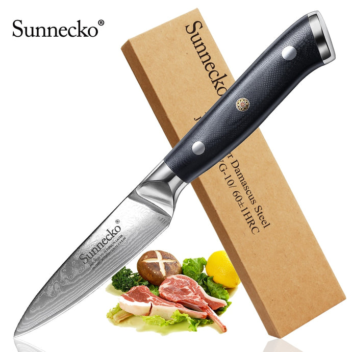 Sunnecko 3.5 Inch Paring Knife