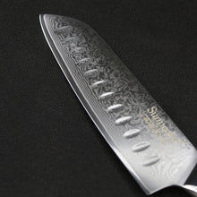 Sunnecko 7 Inch Santoku Knife