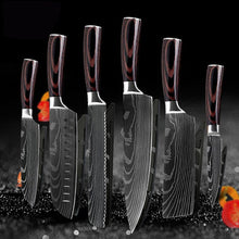 Qing High Quality Japanese Kitchen Knives Set