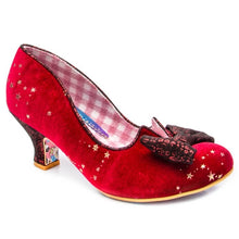 Load image into Gallery viewer, Irregular Choice Women's Dazzle Razzle 4136-4 Mid Heel Shoes Red