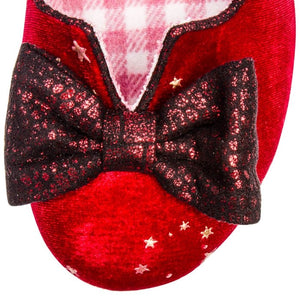 Irregular Choice Women's Dazzle Razzle 4136-4 Mid Heel Shoes Red