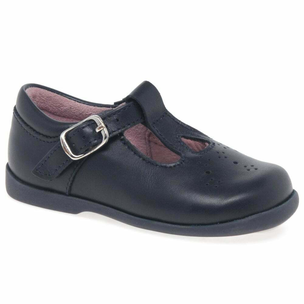 Start-Rite Girls Toddlers Sandelette 3 T-Bar First Shoes Navy