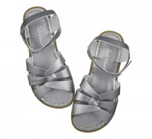 Load image into Gallery viewer, Salt-Water Adults Original Leather Sandals Pewter Grey