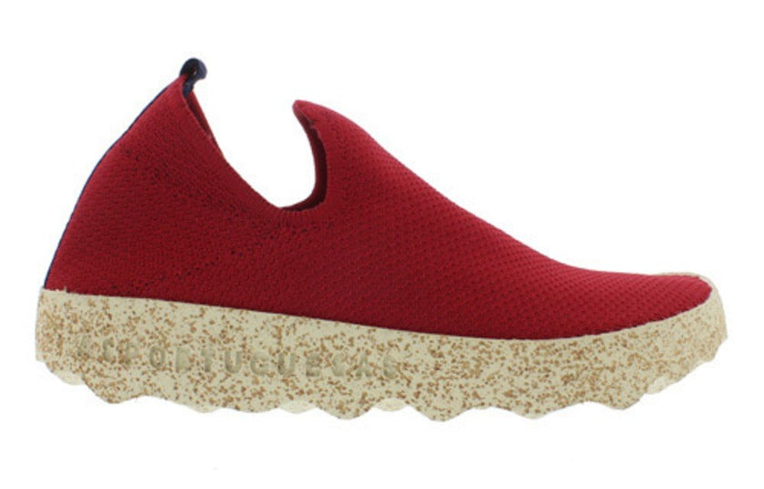 AsPortuguesas Womens Care Elasticated Sneakers Red
