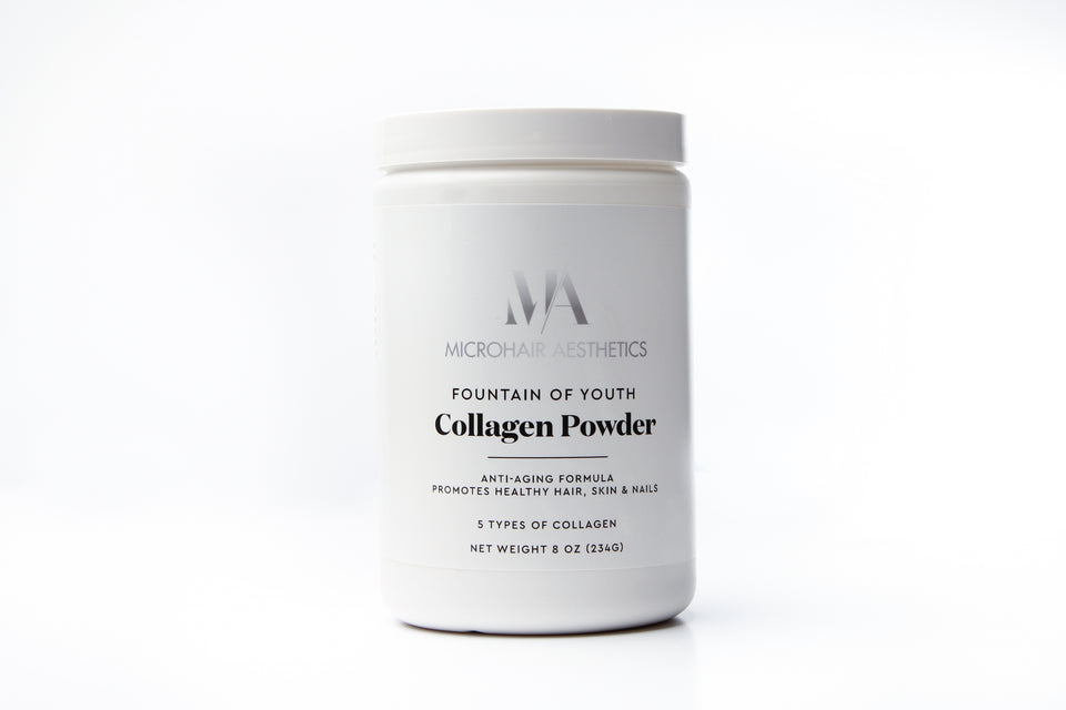 Fount of Youth Collagen Powder Product by Microhair Aesthetics