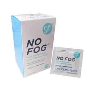 SO No Fog Anti-Fog Wipes 30