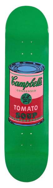 Andy Warhol Campbell's Soup Cans Skateboards