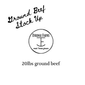 Ground Beef Stock-Up Box