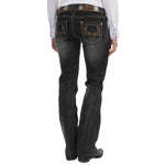 Load image into Gallery viewer, Western Classic Washed Faded Bootcut Jeans
