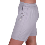 Load image into Gallery viewer, Relaxed Comfort Elasticized Flexi Stretch Ladies Shorts