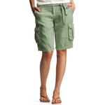 Load image into Gallery viewer, Women's Cotton And Linen Belt Wide-Leg Shorts
