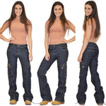 Load image into Gallery viewer, Loose Hiking Military Multi Pockets Casual Jeans