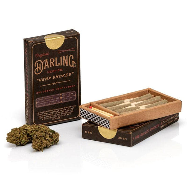 DARLING HEMP - HEMP SMOKES - SUVER HAZE - 7-PACK PREROLLS - Daily Dose Plant-Based Health