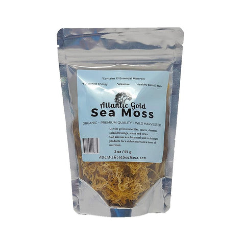 Atlantic Gold Sea Moss