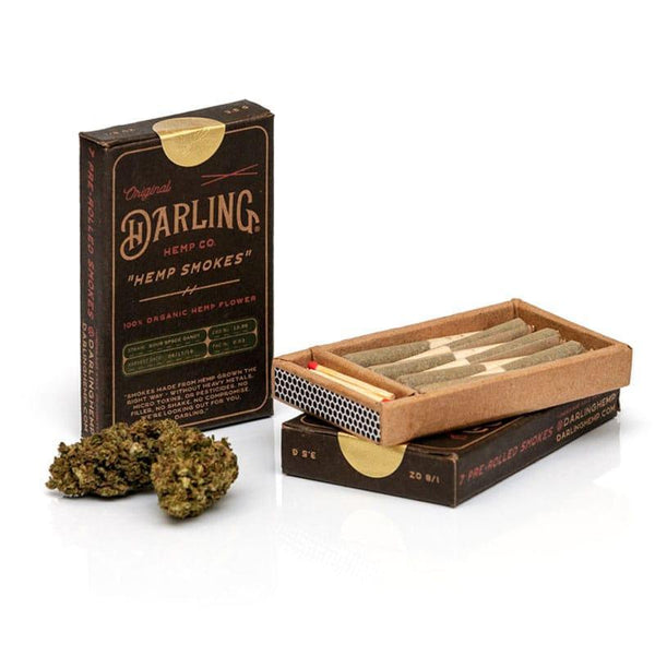 DARLING HEMP - HEMP SMOKES - SOUR SPACE CANDY - 7-PACK PREROLLS - Daily Dose Plant-Based Health