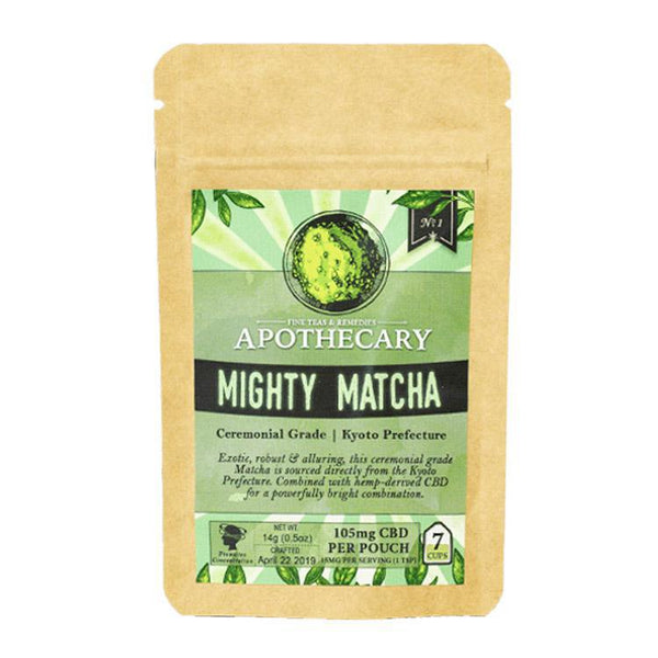 BROTHERS APOTHECARY - DRINK MIX - MIGHTY MATCHA - 100 MG - Daily Dose Plant-Based Health