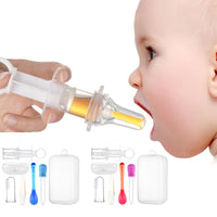 Baby Needle Feeder Squeeze Medicine Dropper Dispenser Pacifier