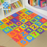 Soft Foam Kids Play Mat Floor Learning Puzzle 36pcs