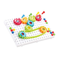 Kids DIY Assembly Gear Chain Toy 3D Puzzle Building Kits