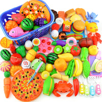 Plastic Food Toy Cutting Fruit Vegetable Food
