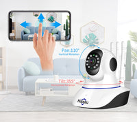 Baby Monitor Two-way Audio Night Vision CCTV 1080P *FREE 64GB SD CARD*