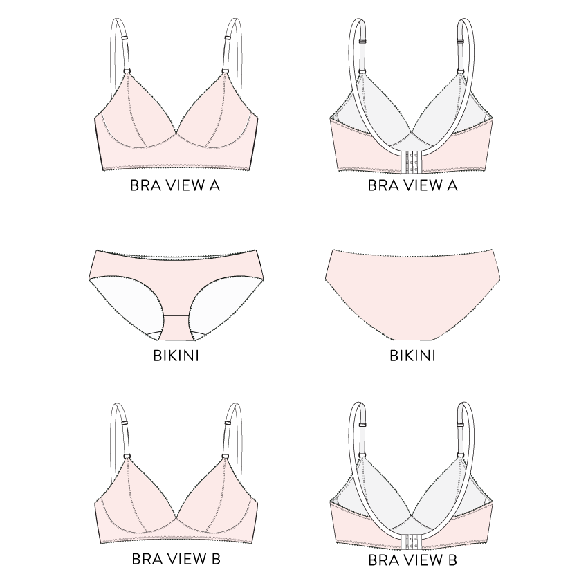 Watson Bra & Bikini Pattern – Cloth Habit