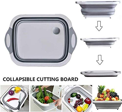 FOLDABLE CUTTING BOARD & BASKET