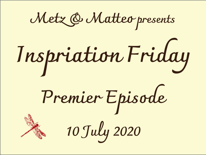 Watch the Premier Episode of Inspiration Friday