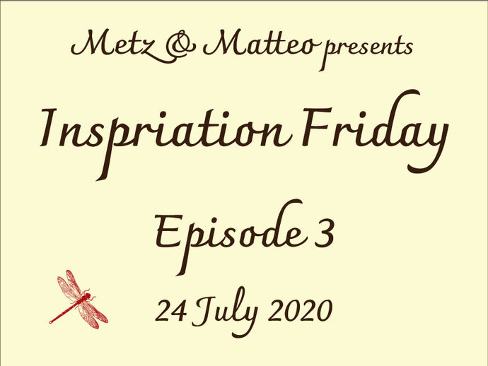 Watch Episode 3 of Inspiration Friday