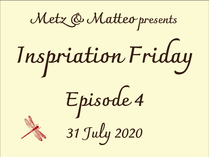 Watch Episode 4 of Inspiration Friday