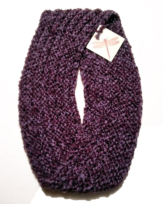"Purple Scarf ""Amethyst Dream"" Step Four"